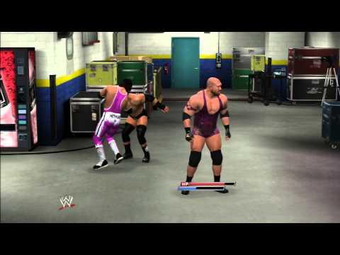 WWE 2K14: BRET HART VS RYBACK VS TRIPLE H...