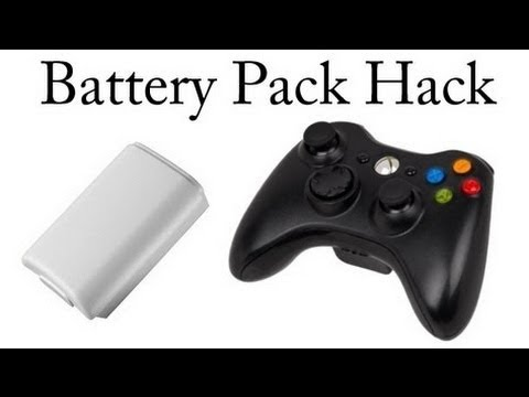Xbox 360 Controller Battery Pack Fix - ( Play and charge )