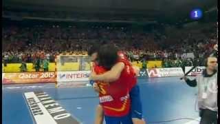 España - Dinamarca Final Mundial Balonmano 2013