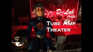 How to build Fender Princeton tube guitar amp kit beginning to end D-lab