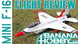 Mini F-16 BlitzRCWorks | Flight Review | EDF Fighter Jet