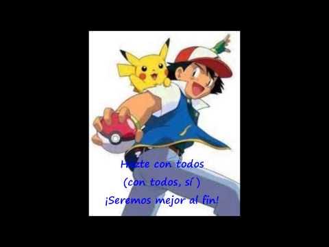 La canción de pokemon  en español castellano (letra)