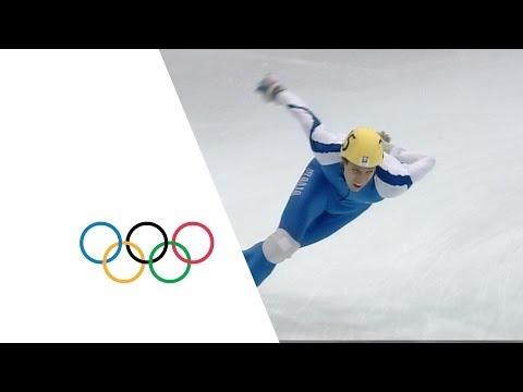 5000m Relay Speed Skating Highlights - Italy Gold - 1994 Lillehammer Winter Olympics
