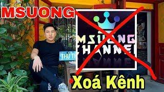 [Gcaothu] Xóa Kênh Youtube Msuong - Youtuber liên quân bị kẻ xấu hãm hại và sự thật được tiết lộ