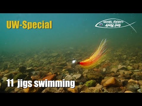 11 Jigs Swimming - Hair Jig Tying And Fishing