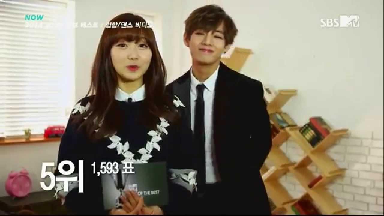 1080p Fall Wallpaper 1080p 150107 Bts V Amp Lovelyz Sujeong 류수정 Mc Cut Sbs