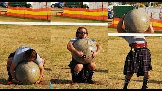 Stone Lifting - 105 kg Weight, Highland Games Event
