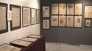 From Enslavement To Emancipation & Beyond - A Historical Newspaper Exhibit - 11/22/14