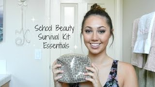 School / Work Beauty Emergency Survival Kit (essentials) || Back to School Series Thumbnail