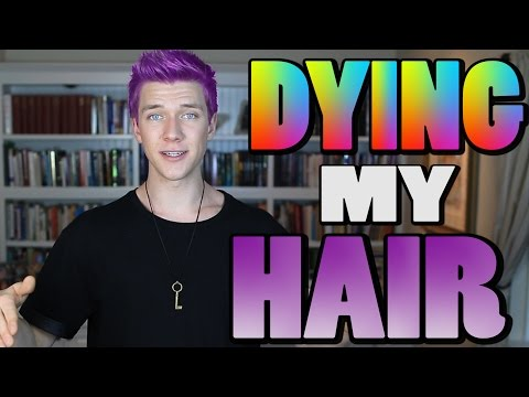 DYING MY HAIR | Collins Key