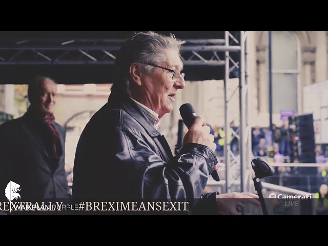 Mike Shaw's Speech at the Brexit Betrayal March