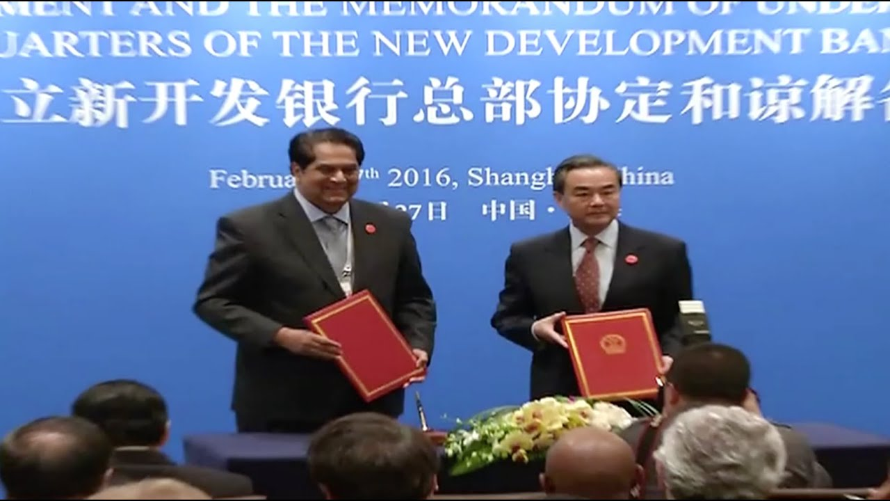 Brics Countries Sign Hq Agreement Mou For New Development Bank