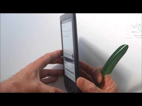 PocketBook Touch 2 - распаковка и первое включение