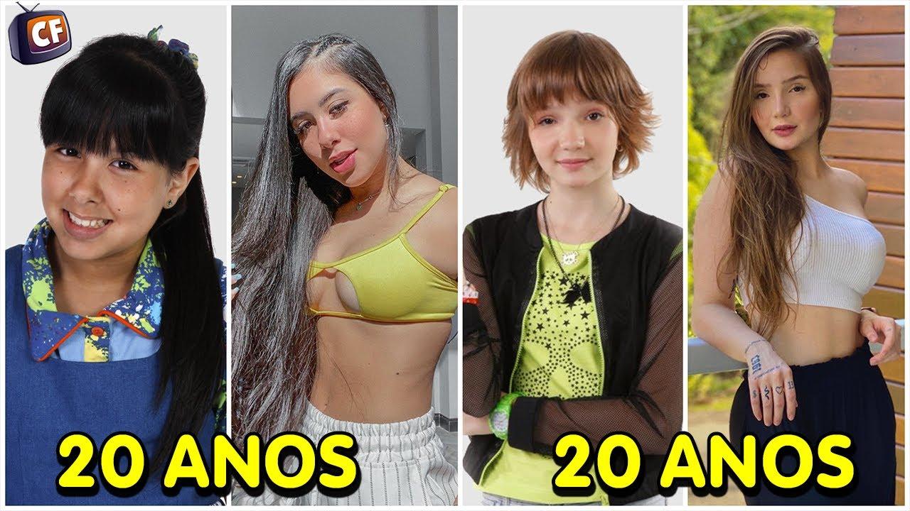 Top 10 Atrizes de Chiquititas que Mais Mudaram 2020