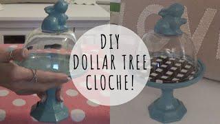 Dollar Tree DIY | Farmhouse Cloche