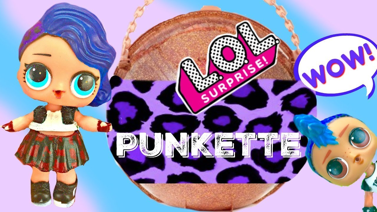 Finding LOL Surprise Punk Boi's Big Surprise Punkette Custom Punk Doll Twin
