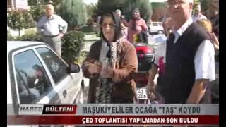 """KOCAELİ TV - MAŞUKİYELİLER OCAĞA """"TAŞ"""" KOYDU"""