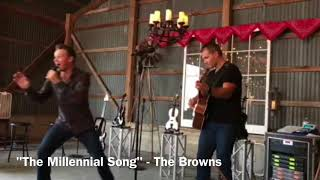 The Official Millennial Song - The Browns