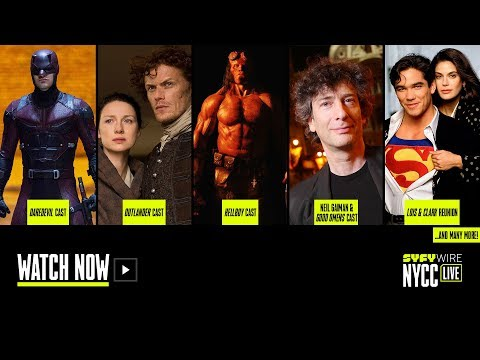 Critical Role, Daredevil, Hellboy And Lois & Clark | Live Stage (Sat 10/6) | NYCC 2018 | SYFY WIRE