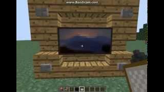 Minecraft En Basitinden Televizyon Yapımı