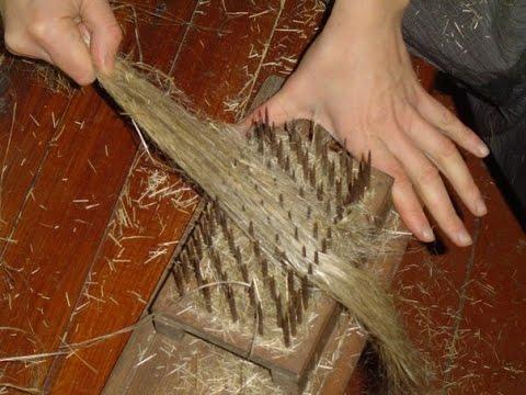 Выращивание и обработка льна