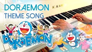 🎵 Doraemon Theme Song (ドラえもん) ~ Piano Cover W/ Sheet Music!