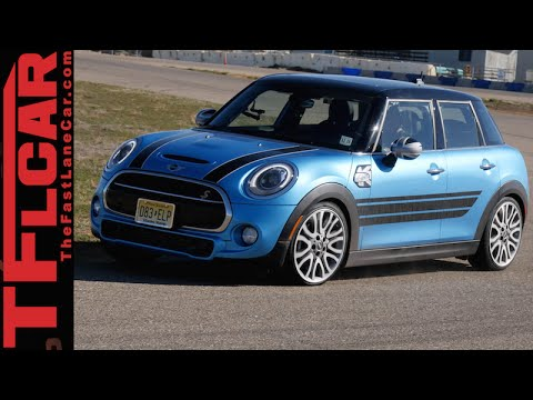 2015 Mini Cooper S 4 Door Hardtop Track Review More Space More