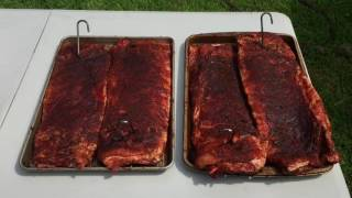 Pork Ribs with Daigles Sauces and Seasoning