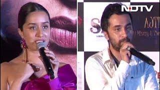 Shraddha Kapoor & Siddhanth Kapoor Play Dawood & Haseena