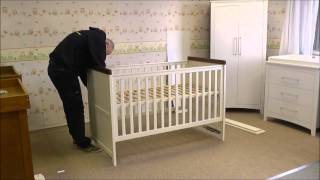 Silver Cross Porterhouse Cot Bed  -  How To Build In Under 2 Minutes By Jade Babycare