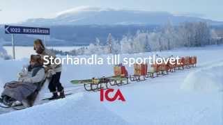 ICA reklamfilm 2014 v.8 - Ulf och Jerry drar på sportlov