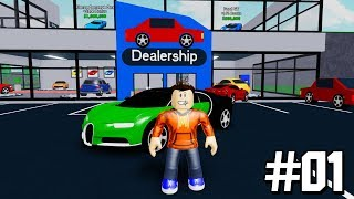 OPENING OUR OWN $100,000,000 CAR DEALERSHIP IN ROBLOX! #1 (New Roblox Game)
