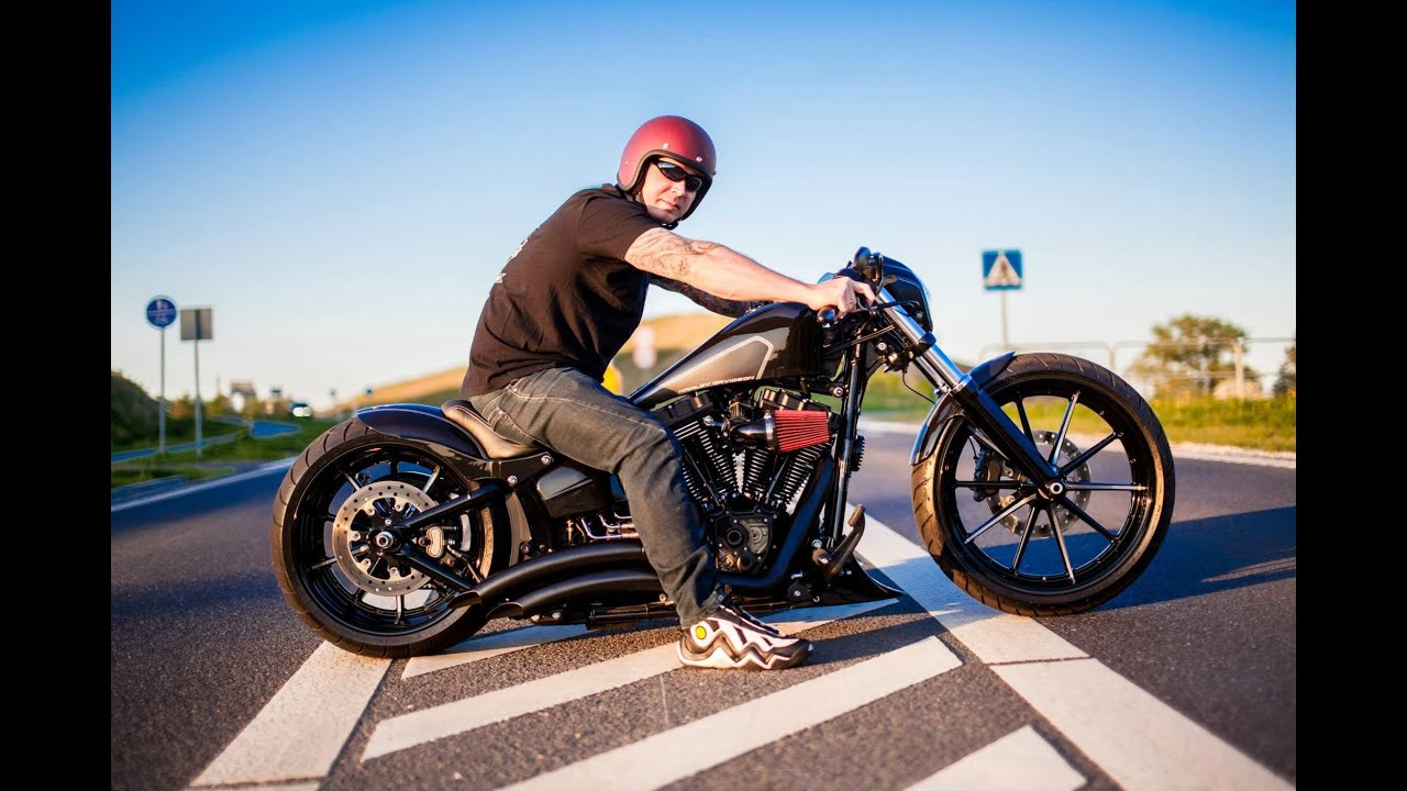 harley davidson breakout softail custom - youtube