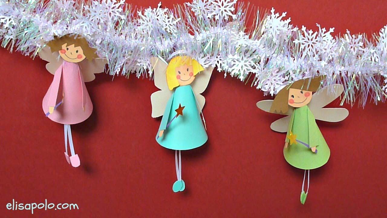 Manualidades para navidad hadas para el rbol de navidad - Manualidades con fieltro para navidad ...