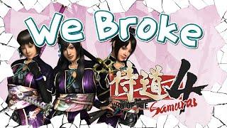 We Broke: Way Of The Samurai 4
