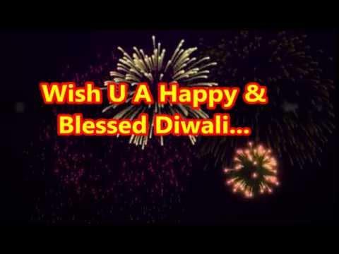 Best Greetings Of Diwali | Happy Diwali Wishes Whatsapp Video With Fireworks