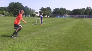 CZ3-Dzień Dziecka w Bolesławcu-Turniej Dzikich Drużyn-Nadia i FC Czarne Pomarańcze-Pierwszy meczyk