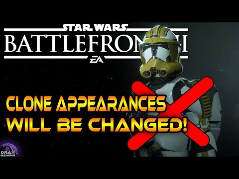 DICE are improving the Clone Appearances!   Devs are back? - Star Wars Battlefront 2 thumbnail
