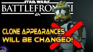 DICE are improving the Clone Appearances! | Devs are coming back! - Star Wars Battlefront 2