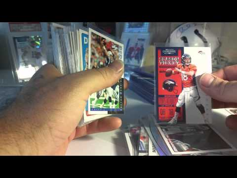 Peyton Manning cards a buck each FS/FT