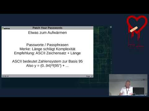 Patch your Passwords