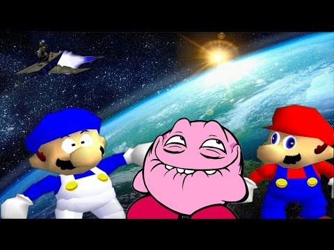 SM64 bloopers: Kirby Phones Home.