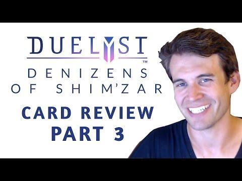 (Duelyst) Denizens of Shim'zar Card Review: Part 3