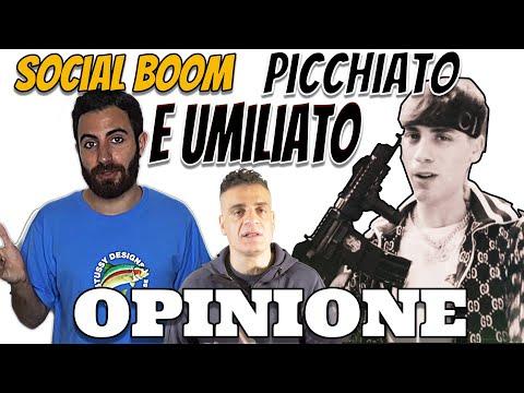 Opinione Social Boom aggredito da Elia 17 Baby