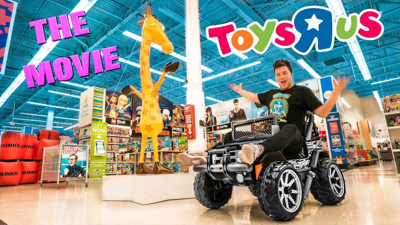 24 HOUR CHALLENGE AT TOYS R US! THE MOVIE
