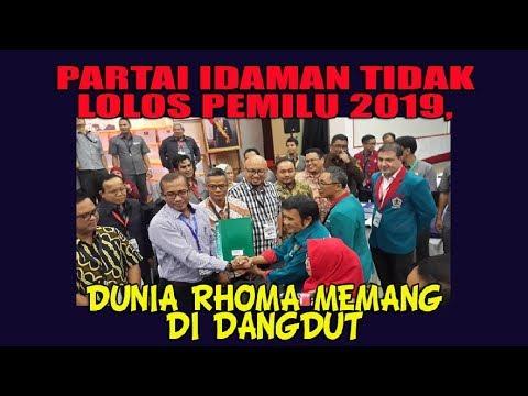 Partai Idaman Tidak Lolos Pemilu 2019, Dunia Rhoma Memang di Dangdut