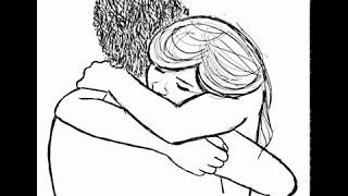 How to Draw Two People Hugging : Drawing Hugs Step by Step Drawing Tutorial