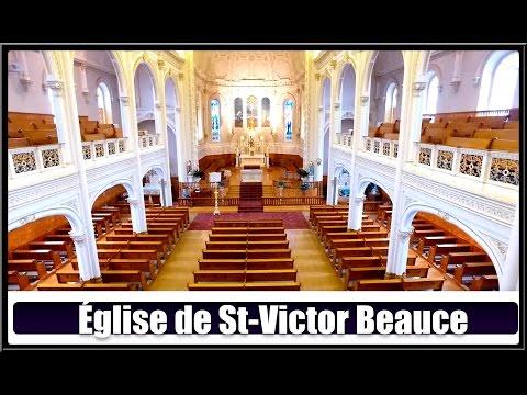 Église De St-Victor(Hier @ Aujourd`hui)