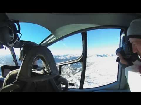 2nd 360 Video above Abisko National Park area