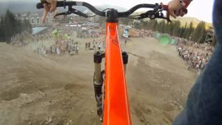 GoPro HD HERO Camera: Crankworx Whistler – Cam Zink's Slopestyle Victory Lap